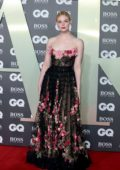 Elle Fanning attends the 2019 GQ Men Of The Year Awards at Tate Modern in London, UK