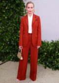 Emily Blunt attends Tory Burch NYFW SS20 at the Brooklyn Museum in New York City