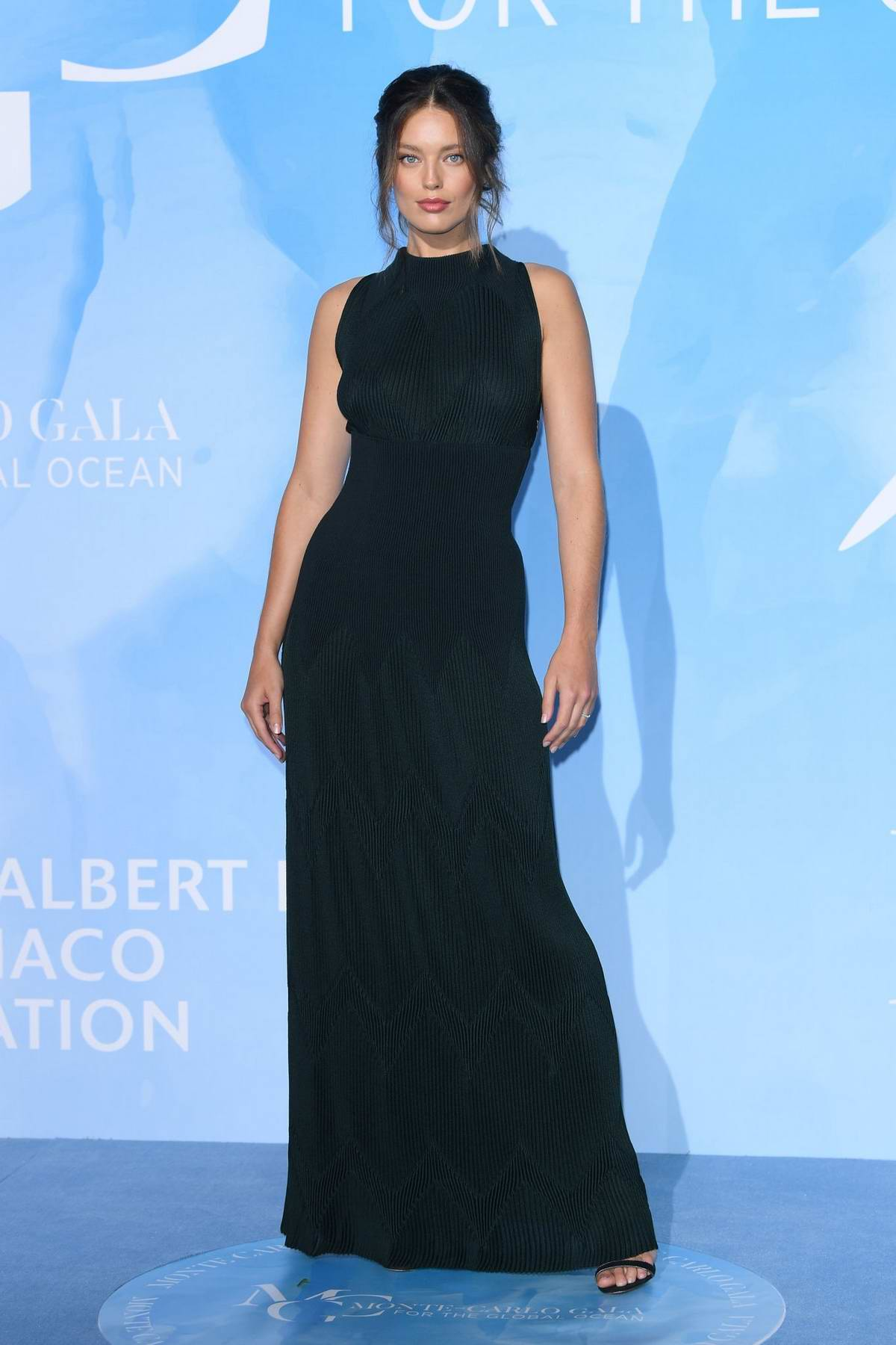 Emily DiDonato attends the Gala for the Global Ocean in Monte Carlo, Monaco