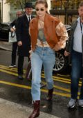 Gigi Hadid keeps it stylish while out and about during Paris Fashion Week in Paris, France