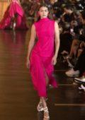 Gigi Hadid walks runway at the Off-White Womenswear Spring/Summer 2020 show during Paris Fashion Week in Paris, France