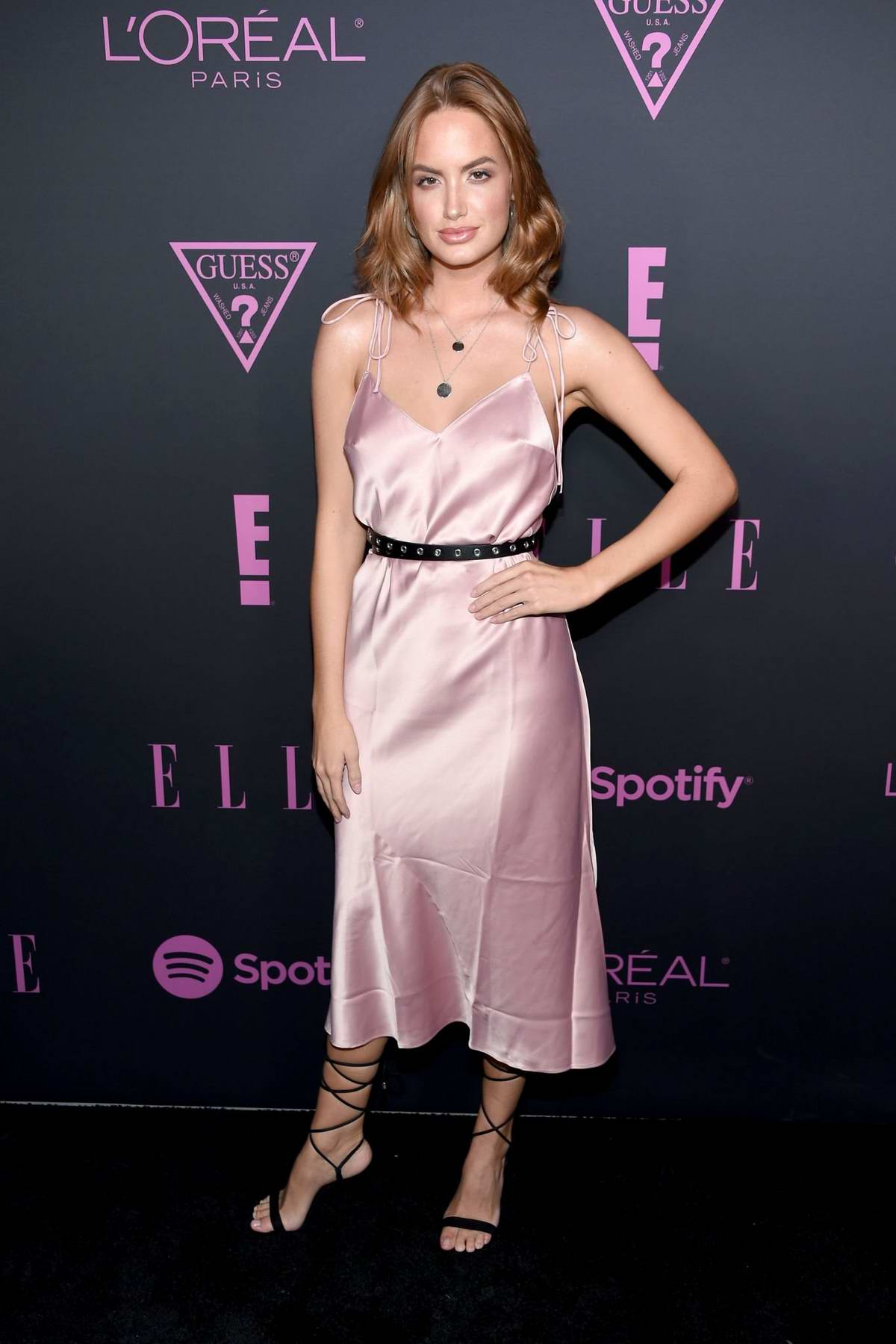 Haley Kalil attends ELLE's Women in Music event in New York City