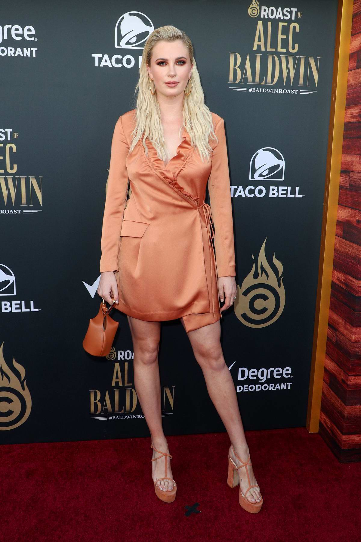 Ireland Baldwin attends the Comedy Central Roast of Alec Baldwin at Saban Theatre in Los Angeles