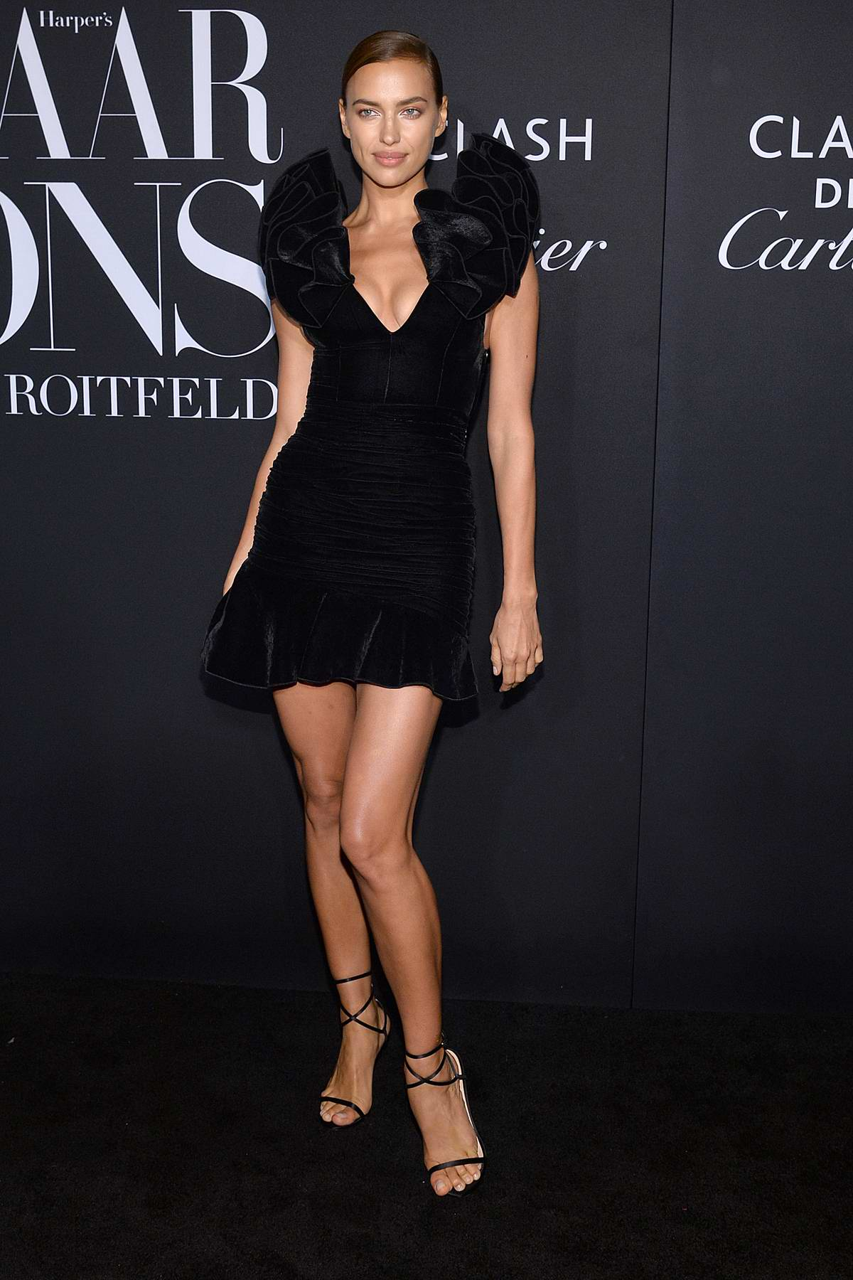 Irina Shayk attends the 2019 Harper's Bazaar ICONS Party at The Plaza Hotel in New York City