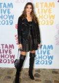 Iris Mittenaere attends the Etam Live show 2019 during Paris Fashion Week, Spring/Summer 2020 in Paris, France