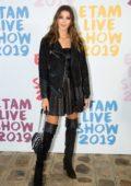 Iris Mittenaere attends the Etam Live show 2019 during Paris Fashion Week, Spring/Summer 2020 in Paris, France