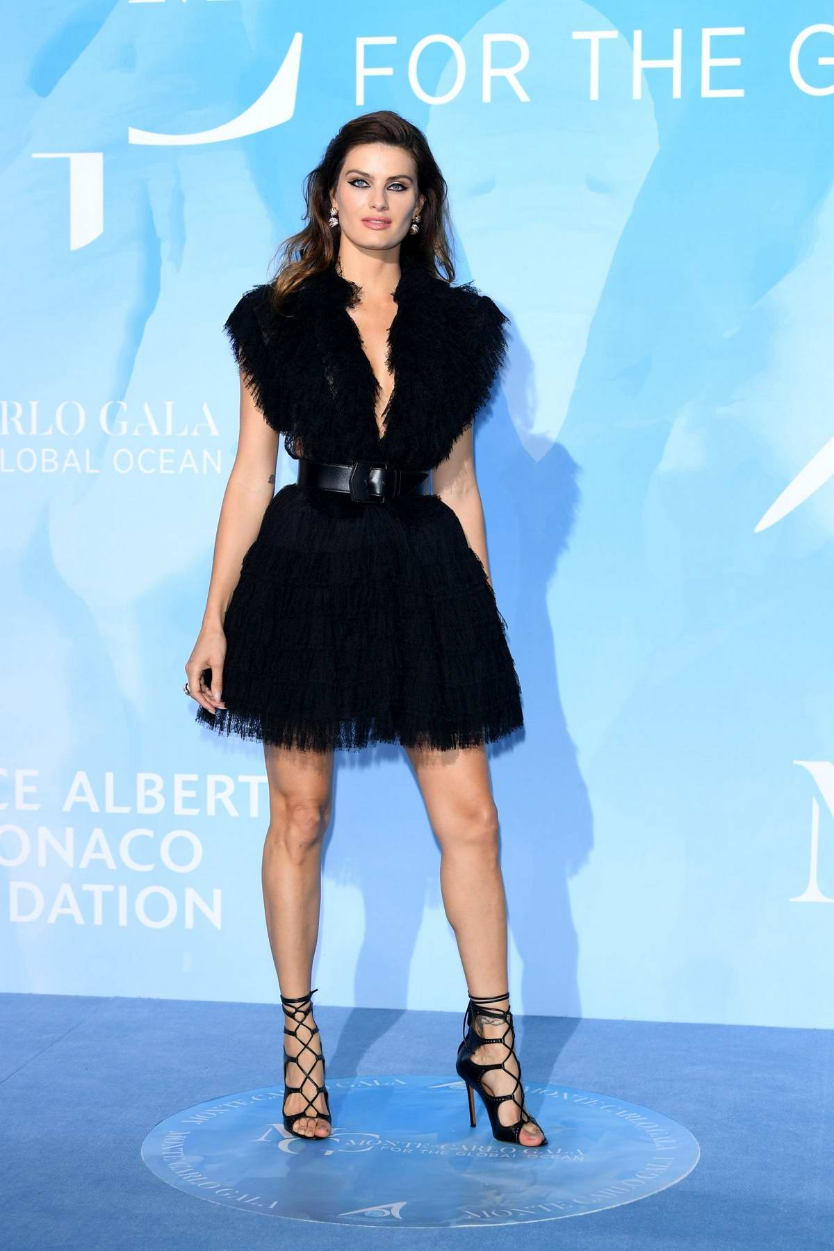 Isabeli Fontana attends the Gala for the Global Ocean in Monte Carlo, Monaco