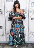 Jameela Jamil visits to promote 'The Good Place' and the 'I Weigh' movement at the Build Series in New York City