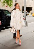Jennifer Lopez looks stylish in white ensemble with a pair of cool shades while out in New York City