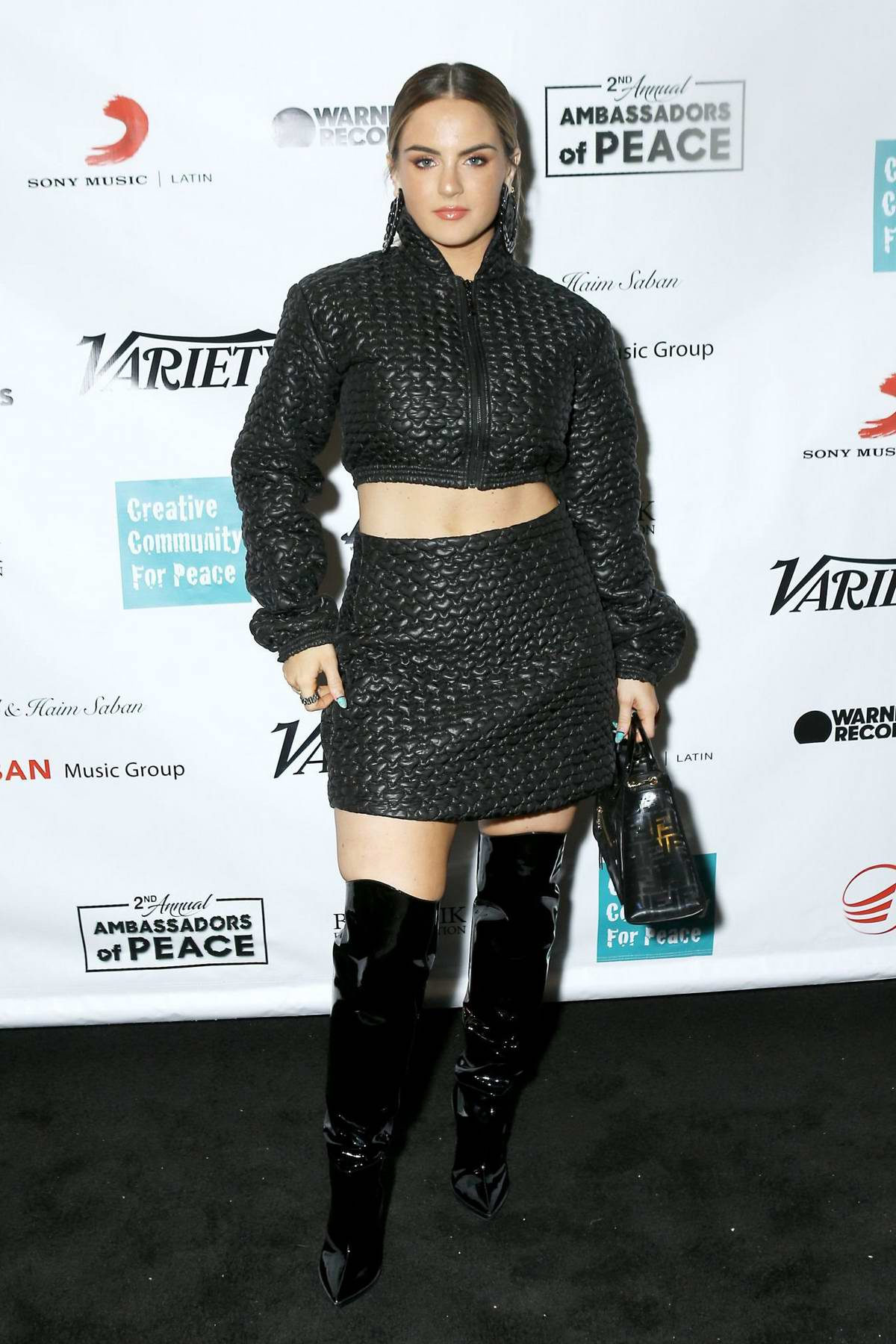 Joanna 'Jojo' Levesque attends Creative Community for Peace's 2nd Annual 'Celebrating Ambassadors of Peace' event in Los Angeles