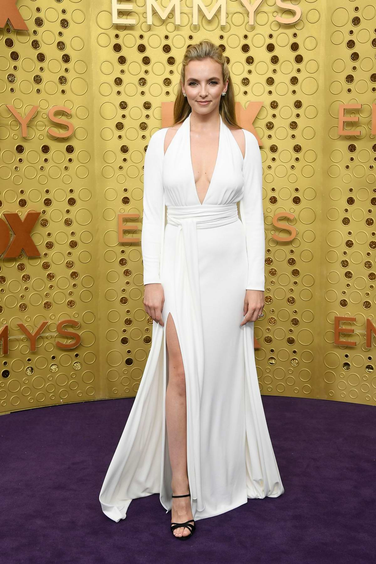 Jodie Comer attends the 71st Primetime Emmy Awards at Microsoft Theater in Los Angeles