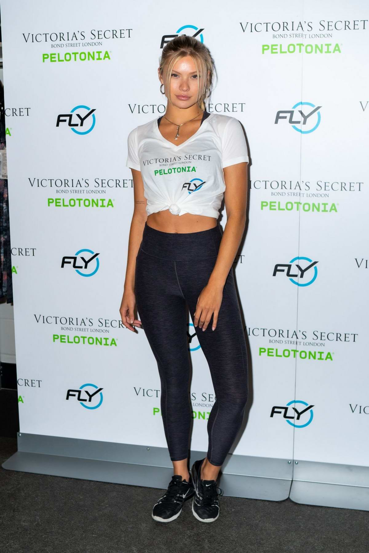 Josie Canseco attends 'Angel Cycle' at Flywheel Sports in New York City