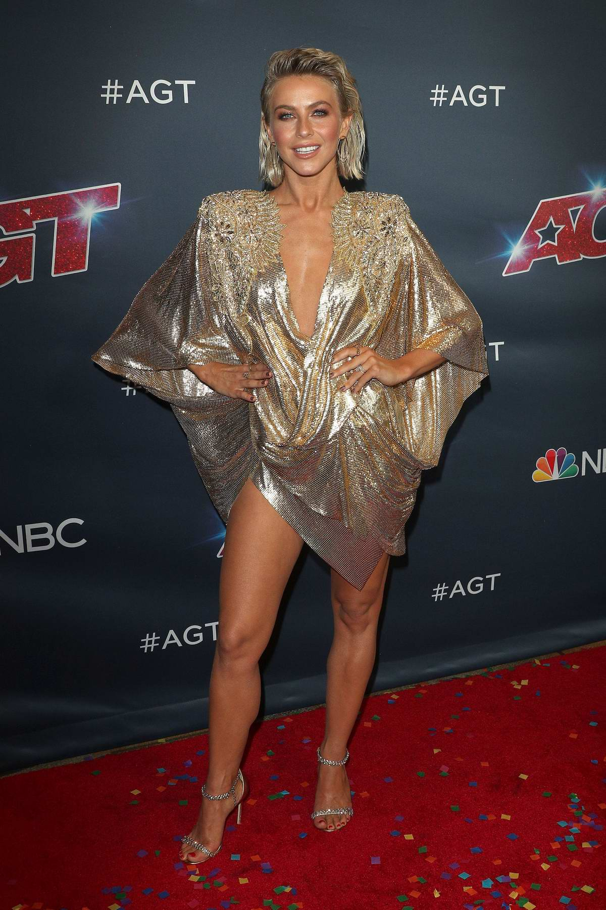 Julianne Hough attends 'America's Got Talent' Season 14 Finale at Dolby Theater in Hollywood, California