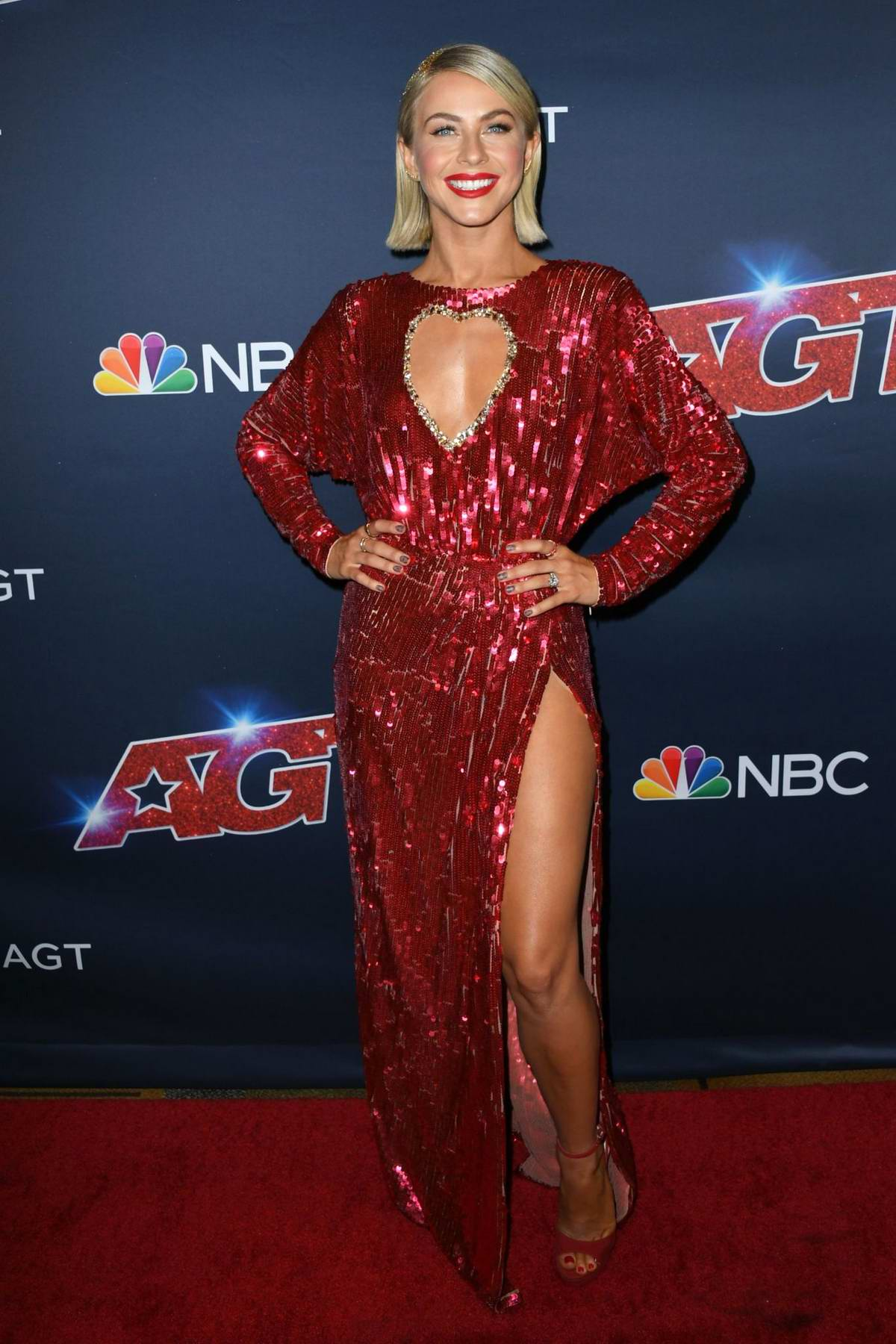 Julianne Hough attends 'America's Got Talent' Season 14 Live Show at Dolby Theatre in Hollywood, California
