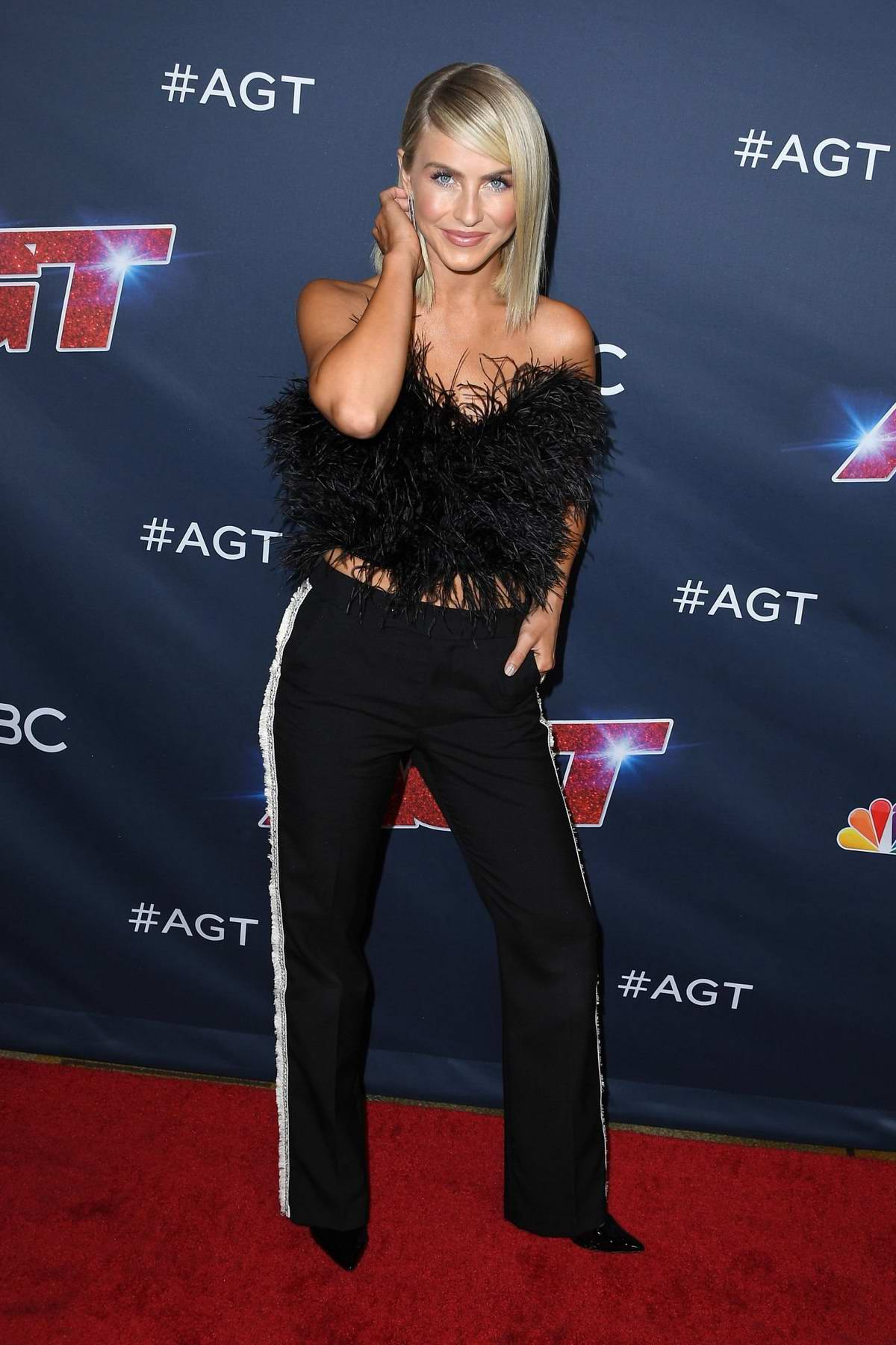 Julianne Hough attends the America's Got Talent Season 14 Live Show in Hollywood, California