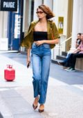 Kaia Gerber puts on a stylish display as she steps out in New York City