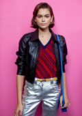 Kaia Gerber seen backstage at the Coach 1941 show SS 2020 during NYFW in New York City