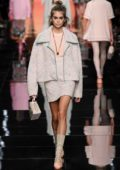 Kaia Gerber walks the runway at the Fendi show during Milan Fashion Week, Spring/Summer 2020 in Milan, Italy