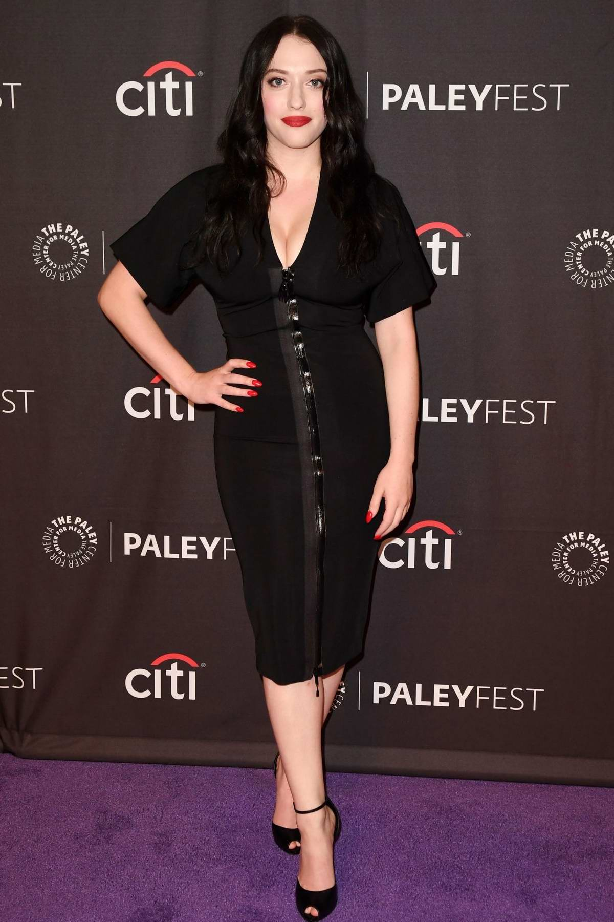 Kat Dennings attends Hulu's 'Dollface' presentation at PaleyFest in Beverly Hills, Los Angeles