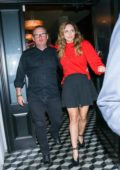 Katharine McPhee seen leaving after dinner at Craig's in West Hollywood, Los Angeles