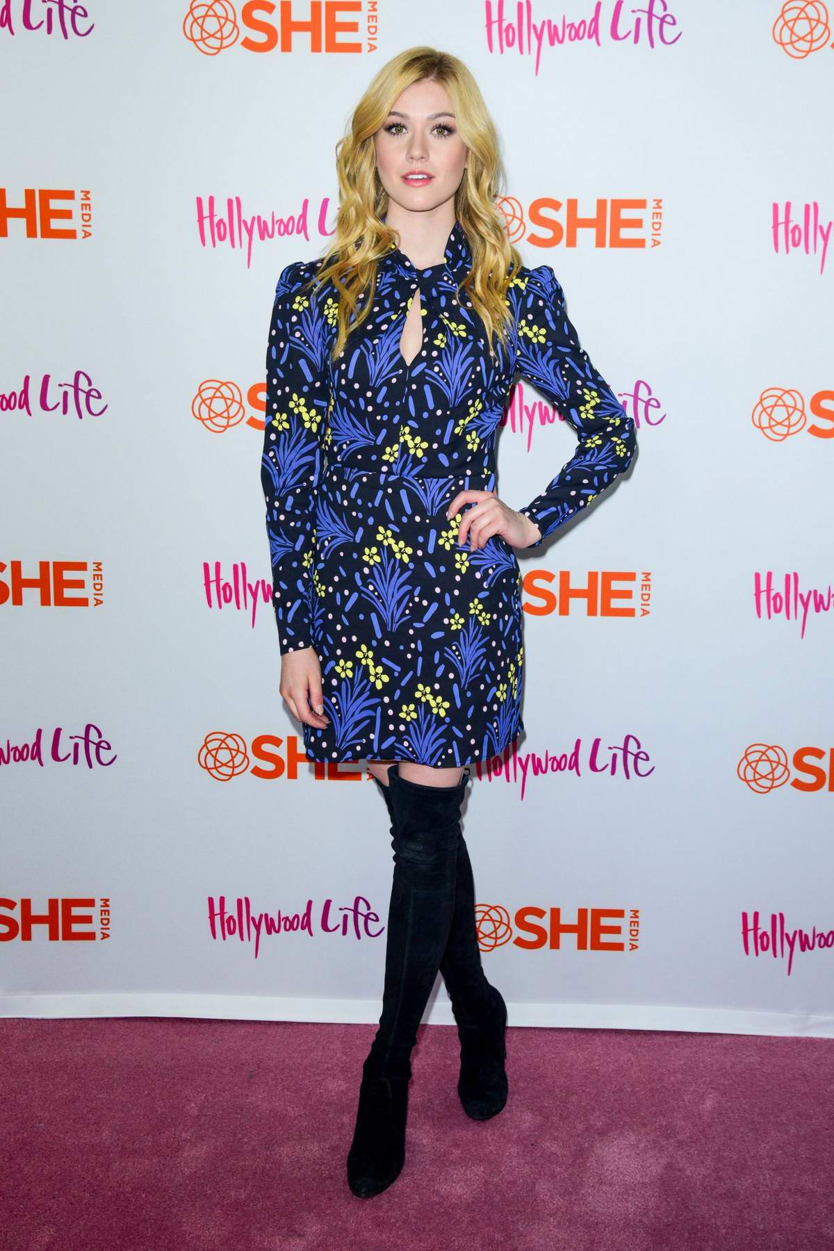 Katherine McNamara attends #BlogHer19 Creators Summit at Brooklyn EXPO Center in New York City
