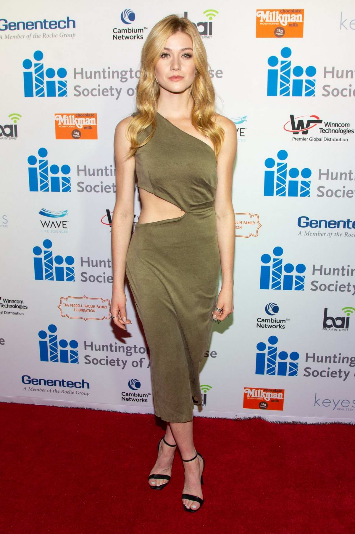 Katherine McNamara attends The 5th Annual Freeze HD Gala in Los Angeles