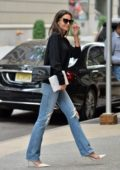 Katie Holmes keeps it chic while out running errands in New York City