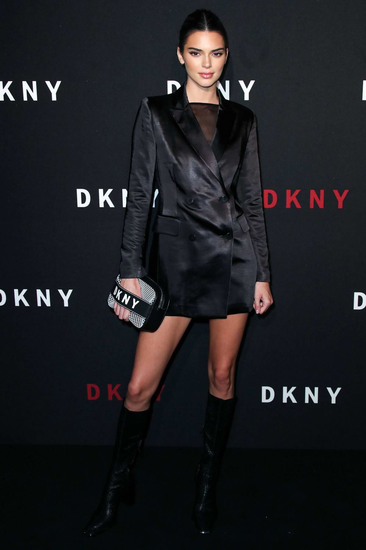 Kendall Jenner attends DKNY 30th birthday party during New York Fashion Week in New York City