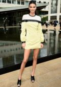 Kendall Jenner attends Longchamp SS20 Runway Show at Hearst Plaza, Lincoln Center in New York City