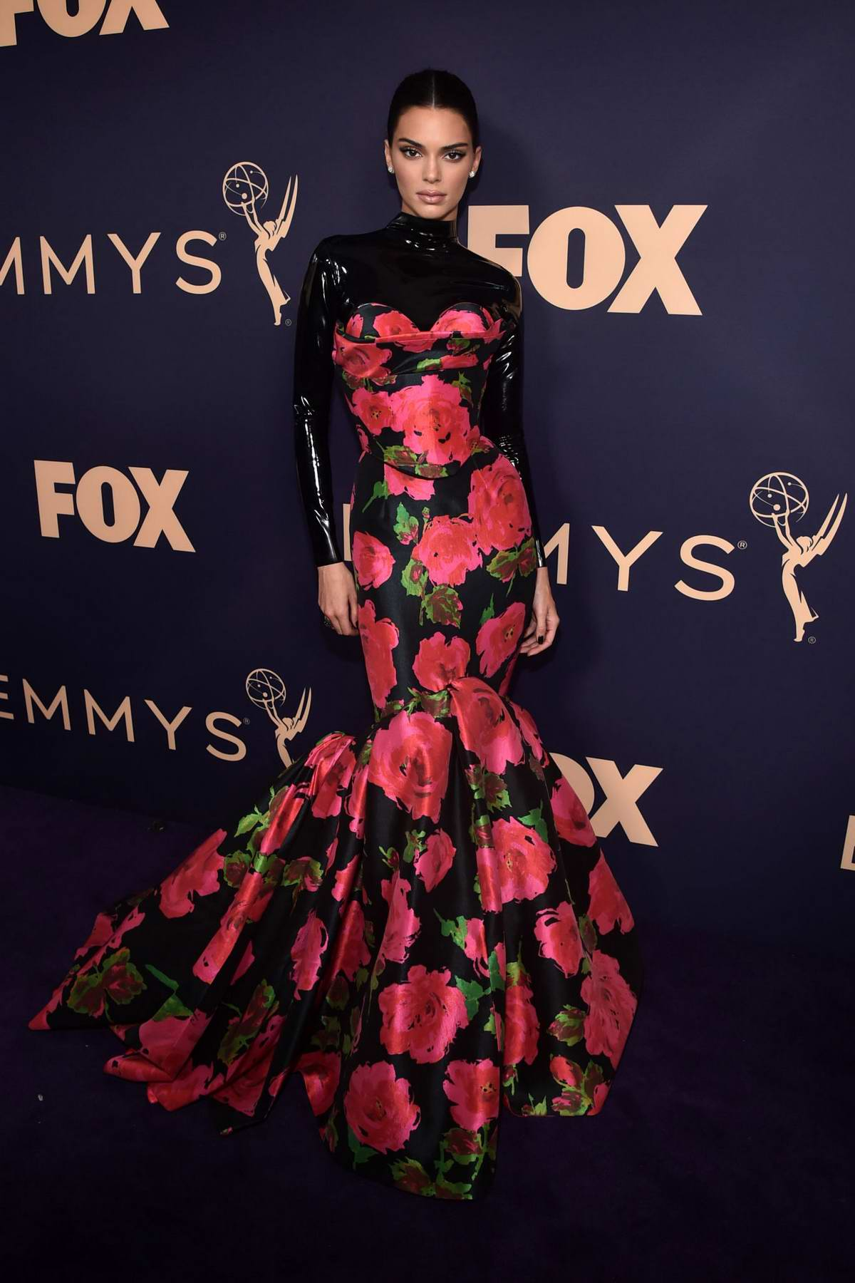 Kendall Jenner attends the 71st Primetime Emmy Awards at Microsoft Theater in Los Angeles