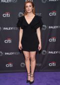 Kennedy McMann attends CW's 'Nancy Drew' panel during 13th annual PaleyFest Fall TV Previews in Beverly Hills, Los Angeles