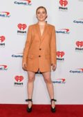 Kennedy McMann attends the 2019 iHeartRadio Music Festival at T-Mobile Arena in Las Vegas, Nevada