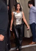 Kim Kardashian attends S by Serena Williams show during New York Fashion Week in New York City