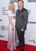 Kirsten Dunst and Jesse Plemons attend the 'The Irishman' premiere during the 57th New York Film Festival in New York City