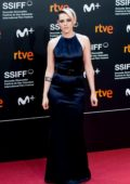 Kristen Stewart attends 'Blackbird' Premiere during 67th San Sebastian International Film Festival in San Sebastian, Spain