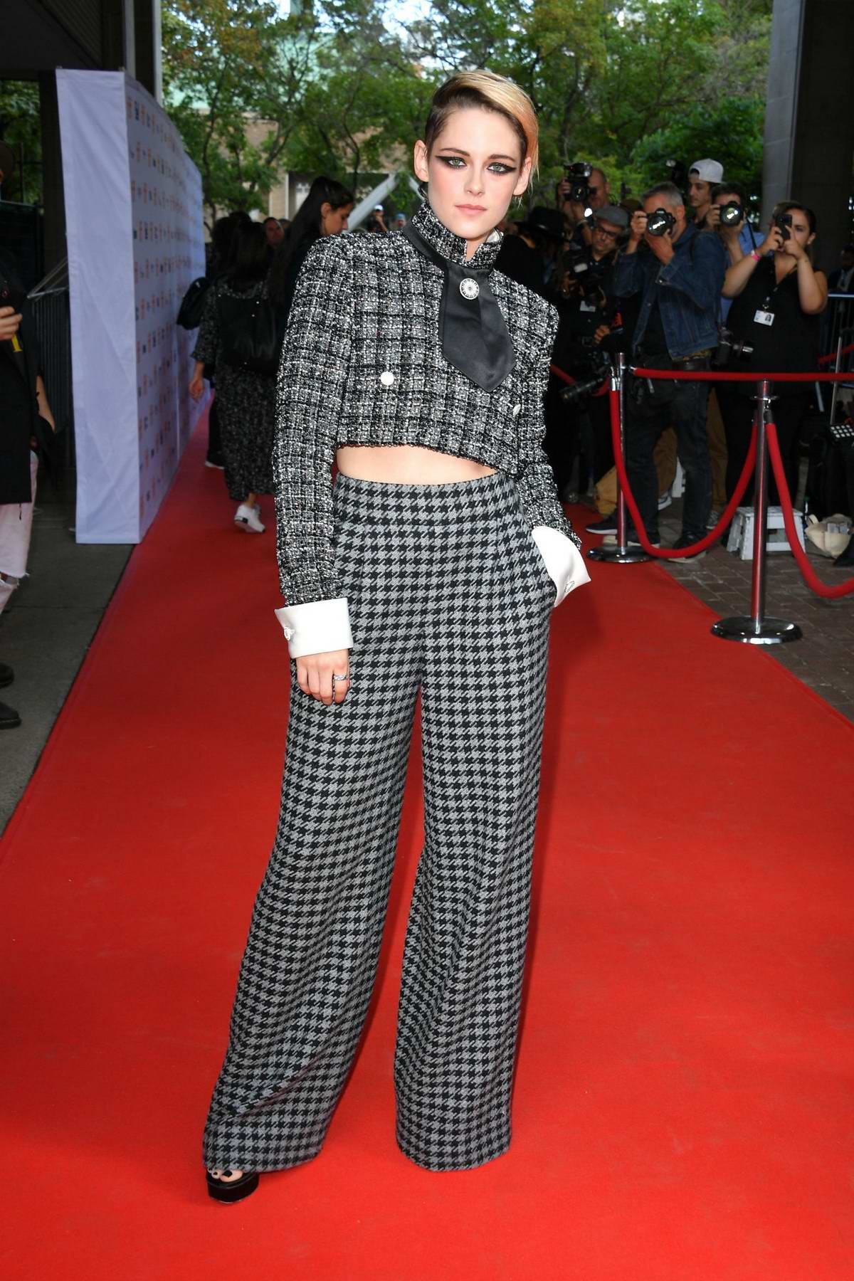 Kristen Stewart attends the premiere of 'Knives Out' during 2019 Toronto International Film Festival in Toronto, Canada