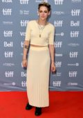 Kristen Stewart attends the 'Seberg' press conference during the 2019 Toronto International Film Festival in Toronto, Canada