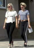 Kristen Stewart holds hands with her new girlfriend Dylan Meyer while out for some shopping in Los Feliz, California