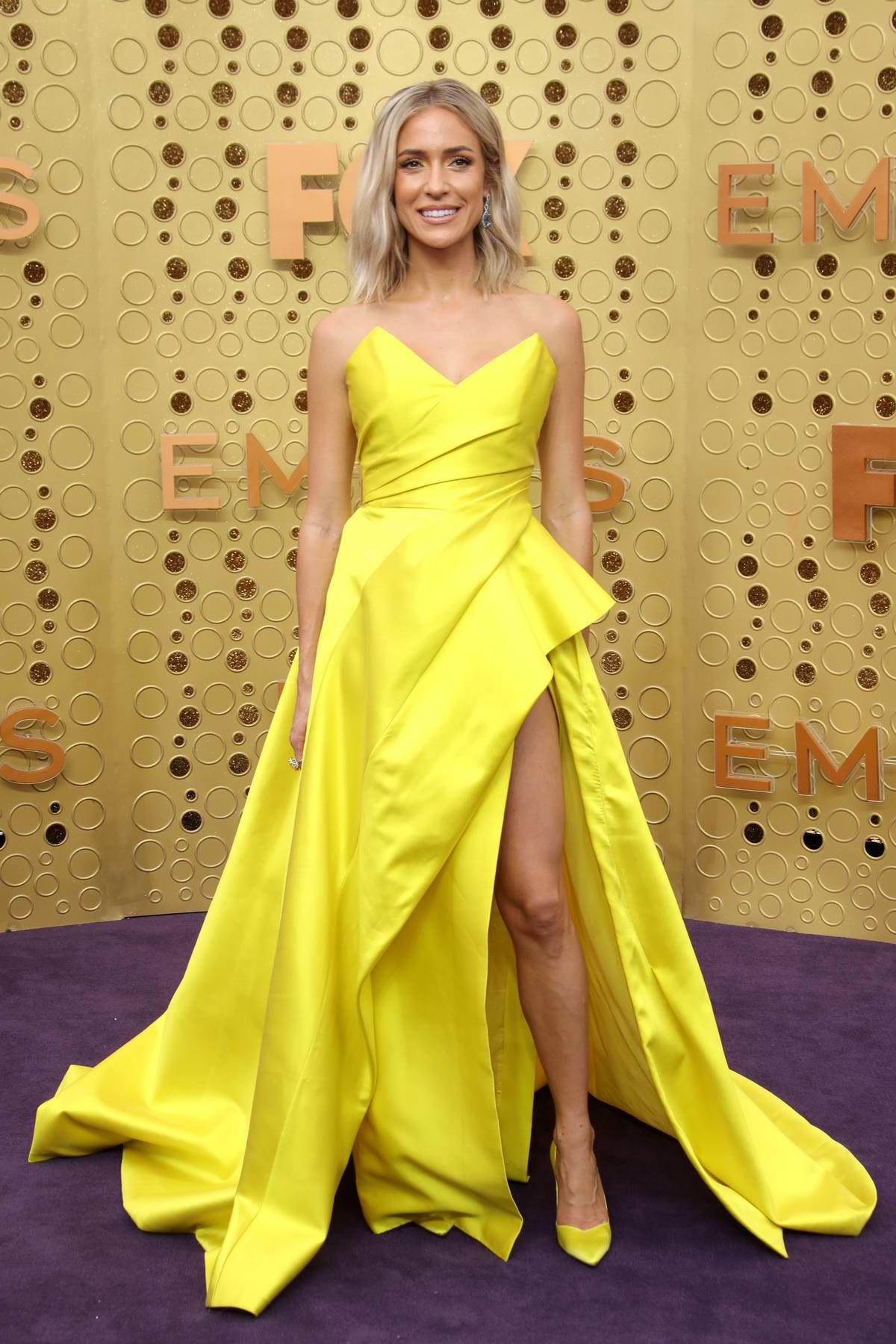 Kristin Cavallari attends the 71st Primtetime Emmy Awards at Microsoft Theater in Los Angeles