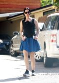 Krysten Ritter spotted for the first time with her newborn son as she stepped out in Los Angeles