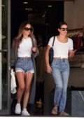 Lea Michele seen while shopping at Switch Boutique in Bel-Air, Los Angeles
