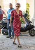 Lea Seydoux spotted on the set of upcoming James Bond movie 'No Time to Die' in Matera, Italy