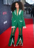 Leigh-Anne Pinnock attends the 'Top Boy' UK Premiere at Hackney Picturehouse in London, UK