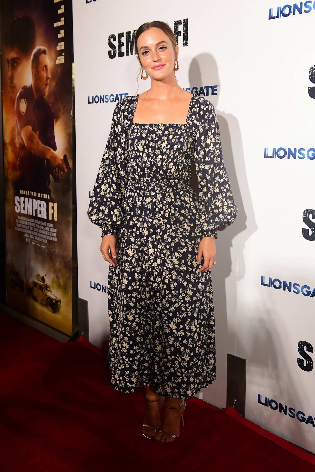 Leighton Meester attends a special screening of 'Semper Fi' in Hollywood, California