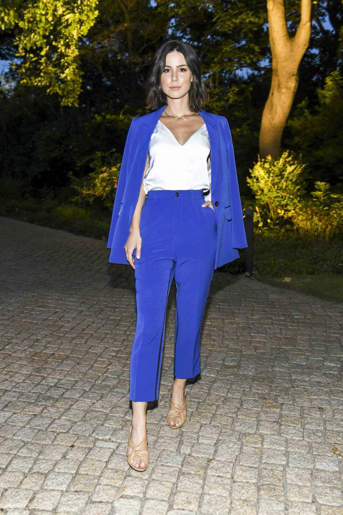 Lena Meyer-Landrut attends Citizens' Party of the Federal President at Schloss Bellevue in Berlin, Germany
