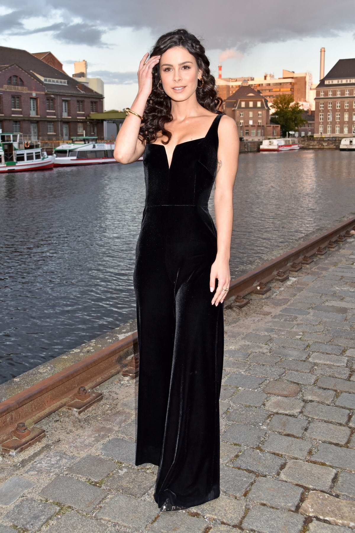 Lena Meyer-Landrut attends the 14th Charity Gala Dreamball at the Westhafen Event & Convention Center in Berlin, Germany