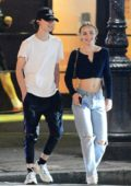 Lily-Rose Depp and Timothee Chalamet step out for an evening together in New York City