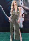 Loren Gray attends the Los Angeles Premiere of 'Joker' at TCL Chinese Theatre in Hollywood, California