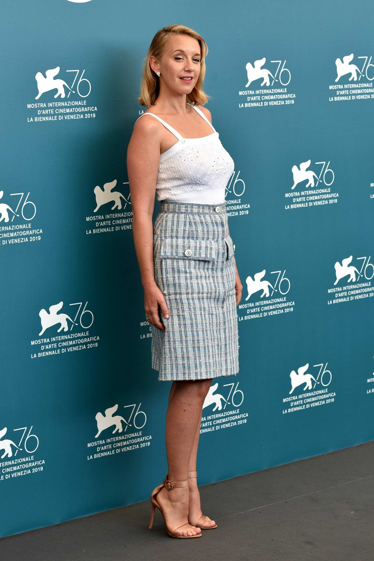 Ludivine Sagnier attends 'The New Pope' Photocall during 76th Venice Film Festival in Venice, Italy