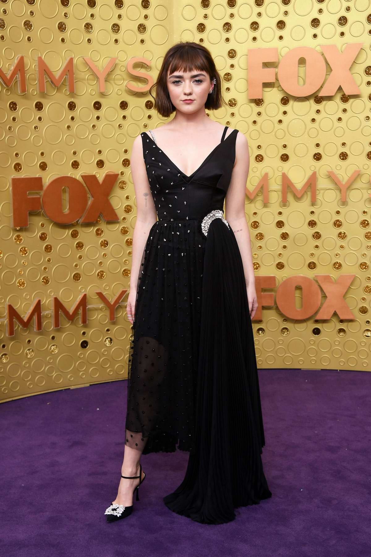 Maisie Williams attends the 71st Primetime Emmy Awards at Microsoft Theater in Los Angeles